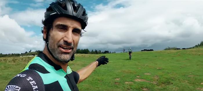 Kilometro bakoitzeko zuhaitz bat landatu dute, Diego Sarasketak parte hartu duen azken proiektuan
