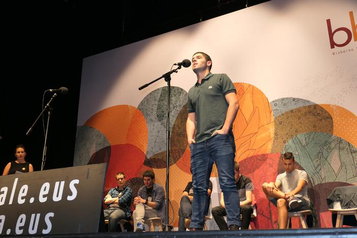 Txaber Altubek irabazi du Zornotzako kanporaketa