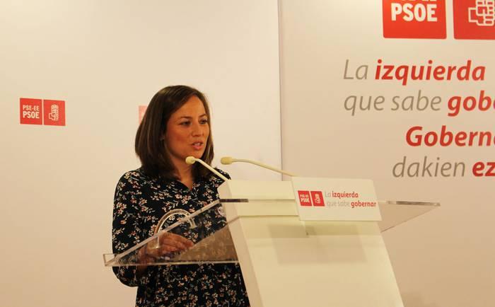 Jesica Ruizen hautagaitza jendaurrean aurkeztu du PSE-EEk, Durangoko alkatetzarako