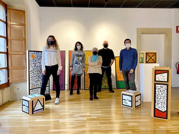 Joseba Urquijoren 'Abstrakzio poetikoa' erakusketa ikusgai egongo da bihartik aurrera