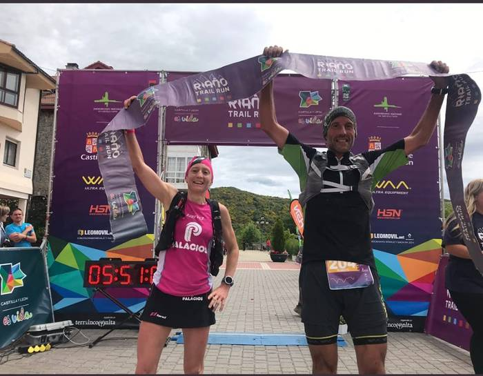 Silvia Triguerosek eta Roberto Iturraldek Riaño Trail Run lasterketa irabazi dute