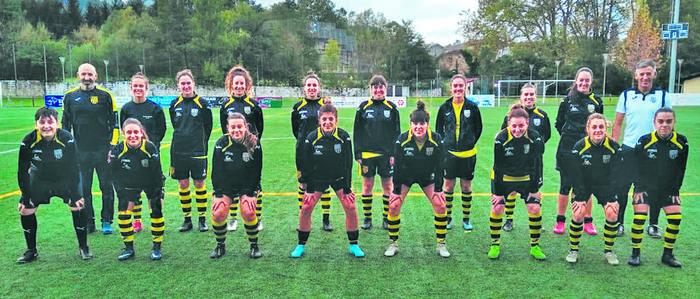Elorriok galdu barik zegoen Athletic ahaltsua menderatu du eta bigarren tokian dago orain futboleko Euskal Ligan