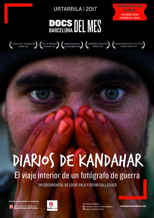 """""""Kandaharko egunkariak"""" dokumentala 19:30ean Iturrin"""