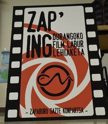 Zapping film laburren lehiaketa antolatu du Zapaburuk berriro