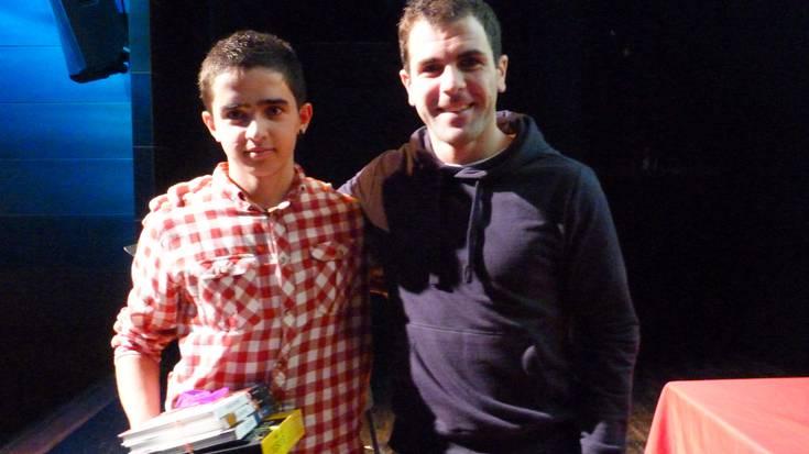 Mikel Mendibe Abarrategi irabazle 14-16 urte arteko mailan