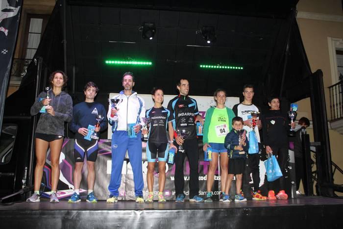 Paul Bereziartua eta Marisol Ramos izan dira azkarrenak Durangoko Gau Krosean