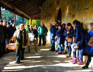 650 euro atera dituzte Garain San Anton eguneko enkantean