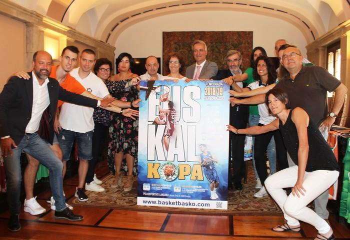 Retabet Bilbao Basket eta RPK Araski taldeek Euskal Kopako titulua defendatuko dute