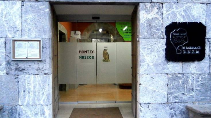 Natura-zientzien Hontza museoa zabaldu dute