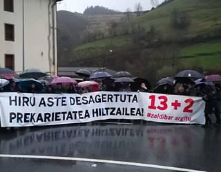 Zaldibar Argituk deitutako lanuzteak babestu eta mobilizazioetan parte hartzera deitu du euskal gehiengo sindikalak