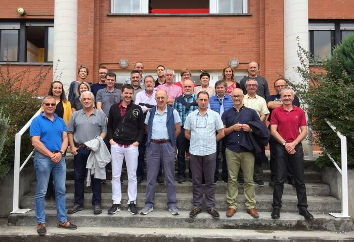 Iurretako Lanbide Heziketa Zentroak orain dela 40 urte ekin zion bideari, 9 irakasle eta 125 ikaslegaz