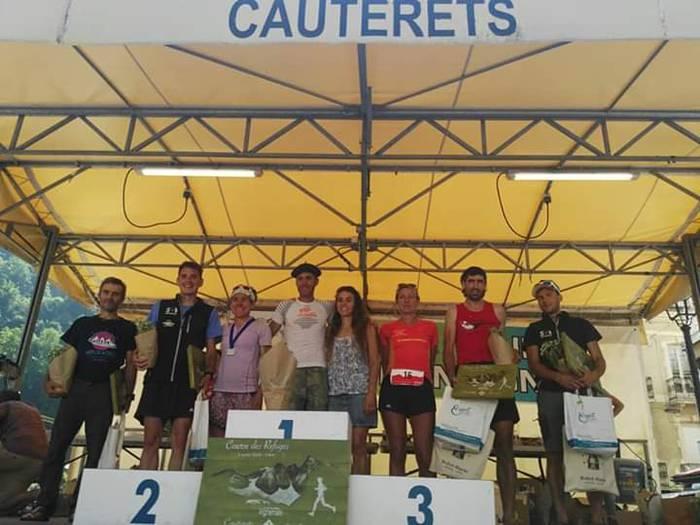 Erlantz Zaldunbidek podiuma zapaldu du Cauteretseko 'Course des refuges' lasterketan