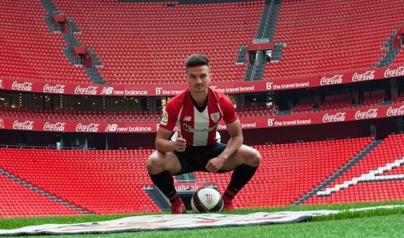 Athleticeko fitxaketa Cristian Ganeak Ekana zentroan hasi du prestakuntza