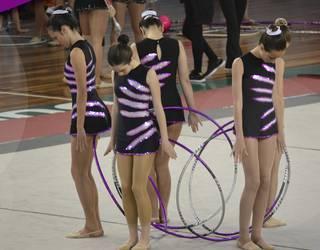 Uztai taldeko gimnastek kurtso bukaerako erakustaldia eskainiko dute zapatuan