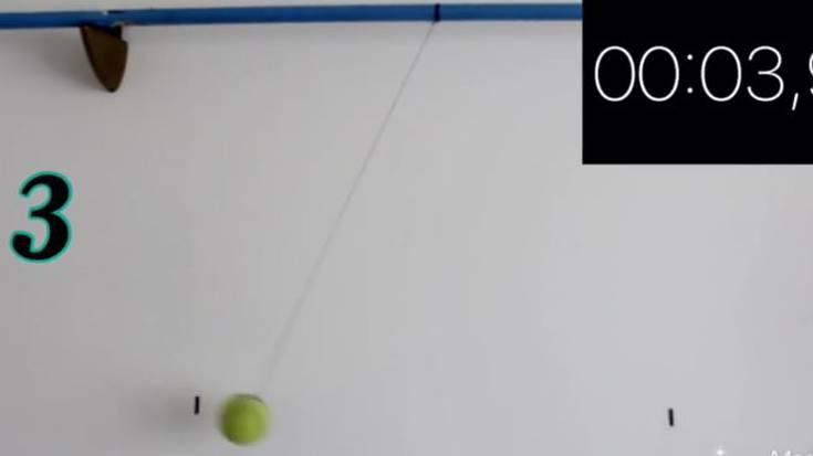 Esperimentuak etxean (3): Zelan kalkulatu grabitatearen azelerazioa pendulo batekin