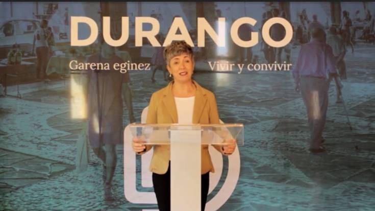 """[BIDEOA] """"Laguntza Sarearen bidez, 300 pertsona baino gehiagok izena eman dute Durangon"""""""