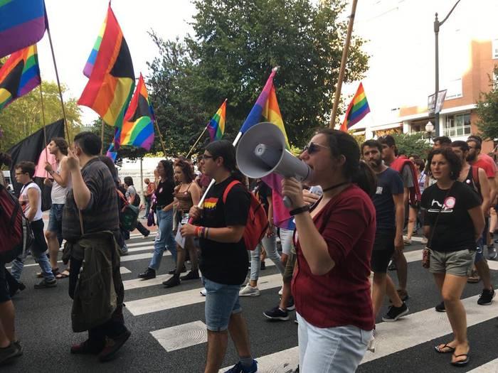Emakumeen eta LGTB kolektiboaren aldeko nazioarteko aktibistek bat egingo dute Zornotzan