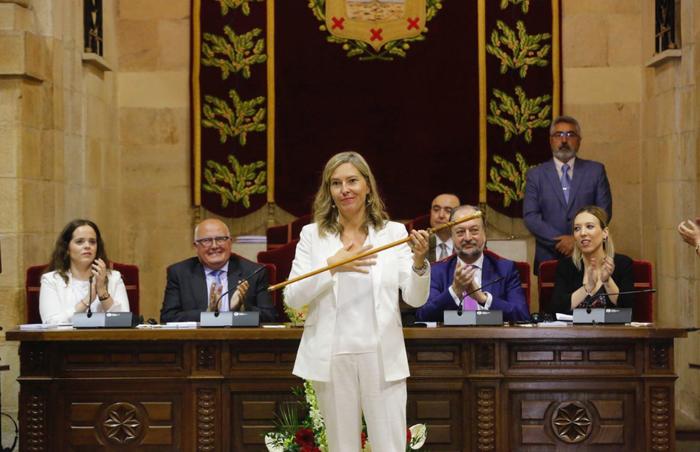 Ana Otadui izendatu dute berriro ere Bizkaiko Batzar Nagusietako presidente