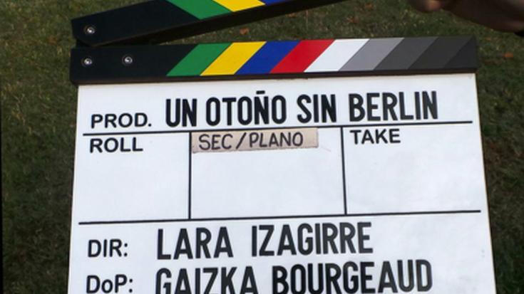Hasi dituzte 'Un Otoño sin Berlin' filmearen grabaketa-lanak Zornotzan