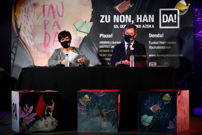 'Zu non, han DA!' egitasmoa jarriko dute martxan Durangoko Azoka Euskal Herri osora zabaltzeko asmoagaz