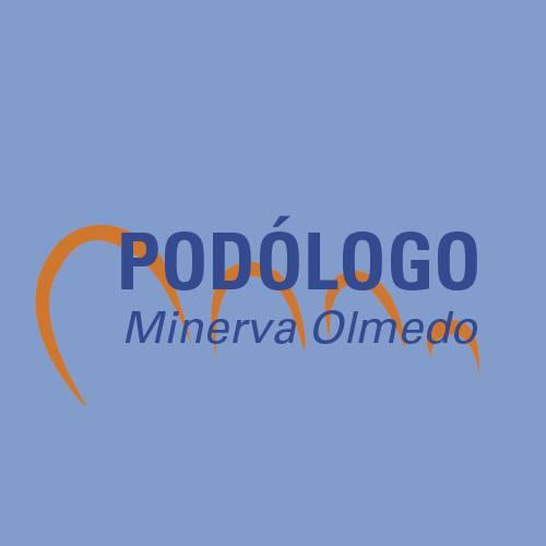 MINERVA OLMEDO PODOLOGOA logotipoa