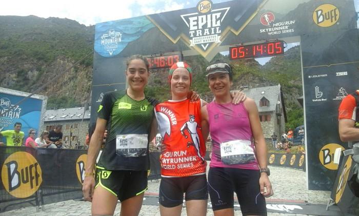 Buff Epic Trail mendi maratoia irabazi du Oihana Azkorbebeitiak