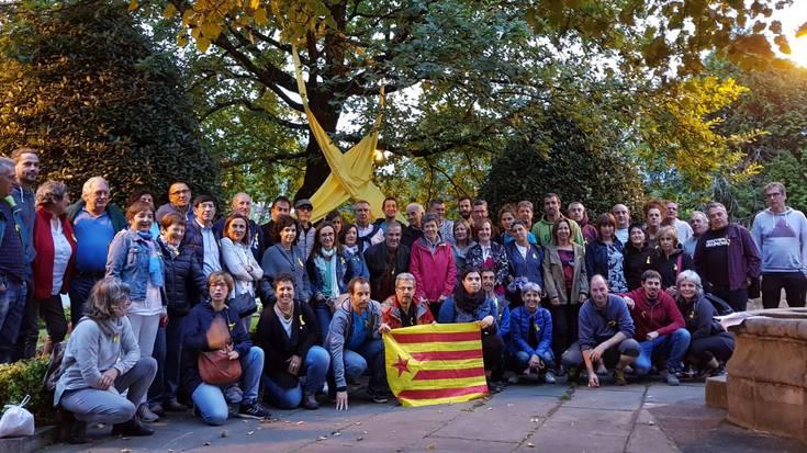 Protestarako deia Durangaldeko hainbat herritan, Kataluniako erreferendumaren epaia salatzeko