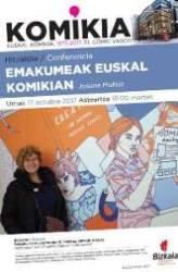 Hitzaldia: Emakumeak euskal komikian