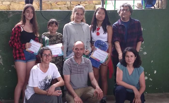 Berrizko Institutuko agenda diseinatzeko lehiaketa Dalila de Oses Diezek irabazi du