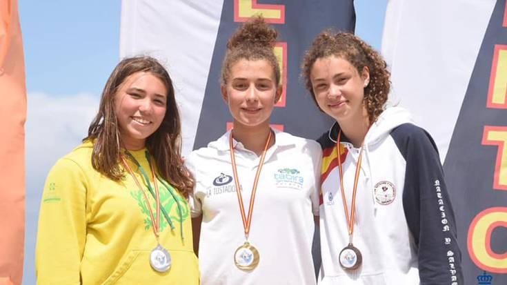 Natalia Martinezek Espainiako salbamendu eta sorospen txapelketa irabazi du gazteetan