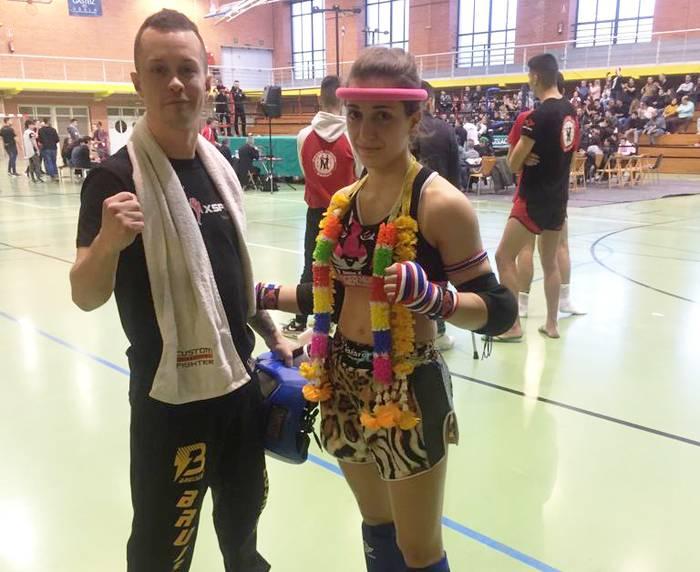 Marta Camarak Muay Thai-ko Euskadiko txapelketa irabazi du elite mailako estreinaldian