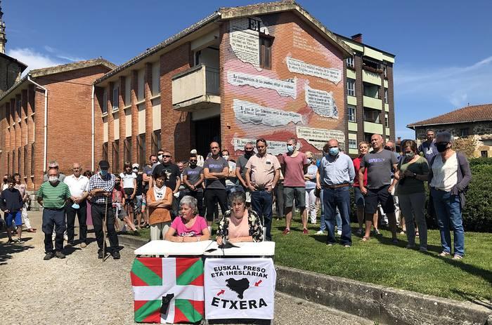 """Otxandioko Udalak Luzia Urigoitia """"giza eskubideen urraketen biktima"""" lez aitortzeko eskatu dio Eusko Jaurlaritzari"""