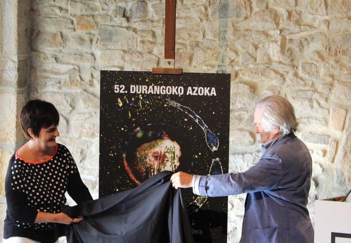Jose Antonio Sistiagaren irudiak iragarriko du 52. Durangoko Azoka