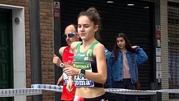 Ainhoa Colino, 15 urtegaz Euskadiko ibiltaririk onena bihurtu den harribitxi berriztarra