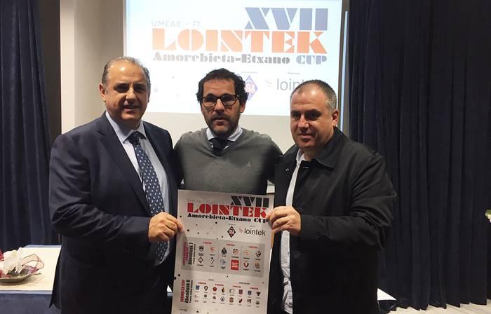 28 taldetako 400 bat umek parte hartuko dute Amorebieta-Etxano Cup torneoan