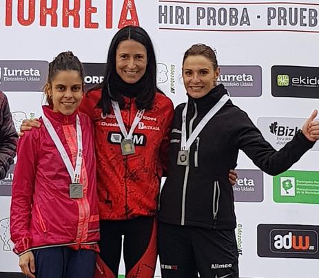 Elena Loyo eta Unai Arroyo geratu ziren Euskadiko txapeldun Iurreta Hiri Proban