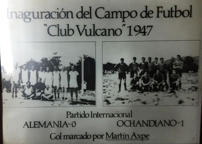 1947an Otxandiok Alemaniari irabazi zion futbol partidua
