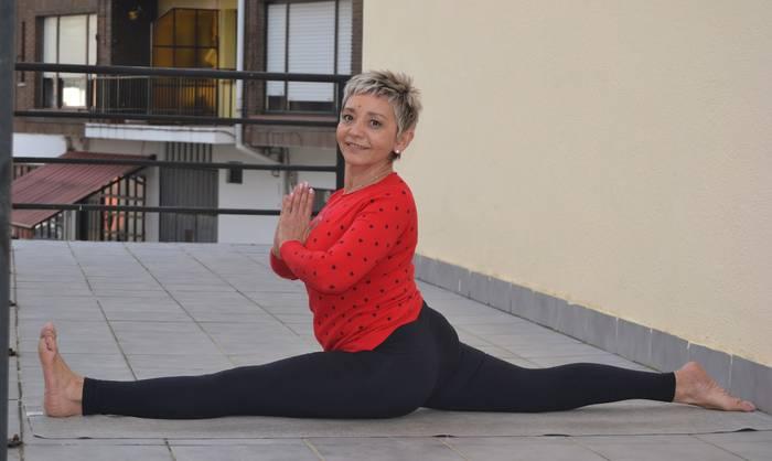 """""""Osasun pilula bat da yoga, oso osasungarria, bai gorputzerako, bai bururako"""""""